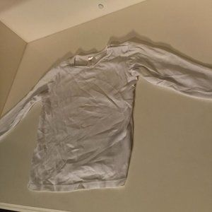 H&M Cotton White Long Sleeve Shirt 2-3 Y